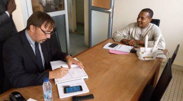 Visite de Travail du Directeur de C2FPA à l'ERSI